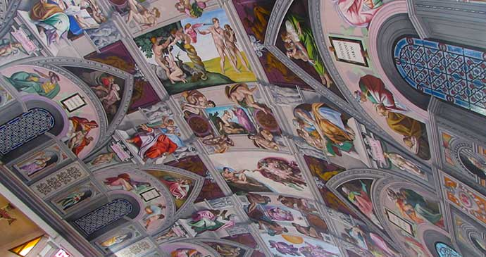 Sistine Chapel, Goring, Sussex, England by Tim Locke