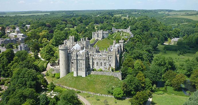 Arundel Castle, Sussex by West Sussex Council