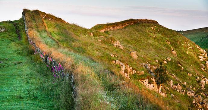 Hadrian's Wall by duchy Shutterstock