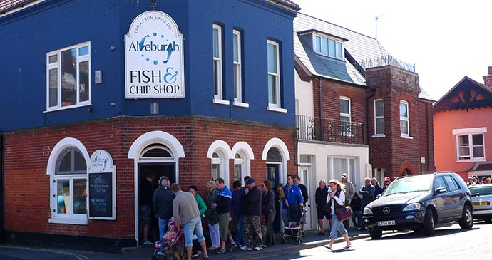 Fish and Chip Shop Aldeburgh Suffolk by clogette Flickr