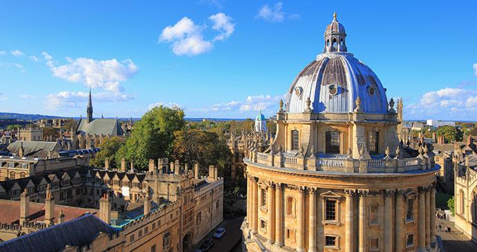 Oxford Oxfordshire UK by aslysun, Shutterstock