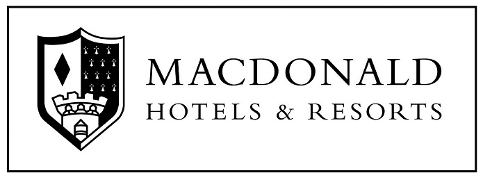 The Macdonald Randolph Hotel logo, Oxford, UK