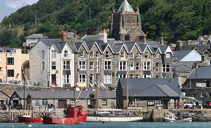 Barmouth Wales UK by Adrian Zenz Dreamstime