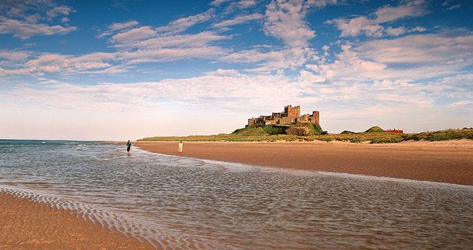 Bamburgh Castle Northumberland UK by Visit England