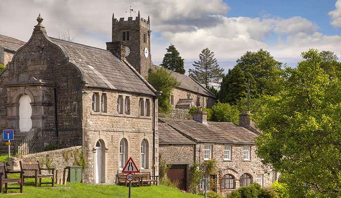 Muker Yorkshire UK by Andrew Roland Dreamstime