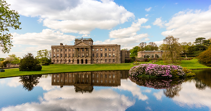 Lyme Park Disley Cheshire England by Debu55y, Shutterstock