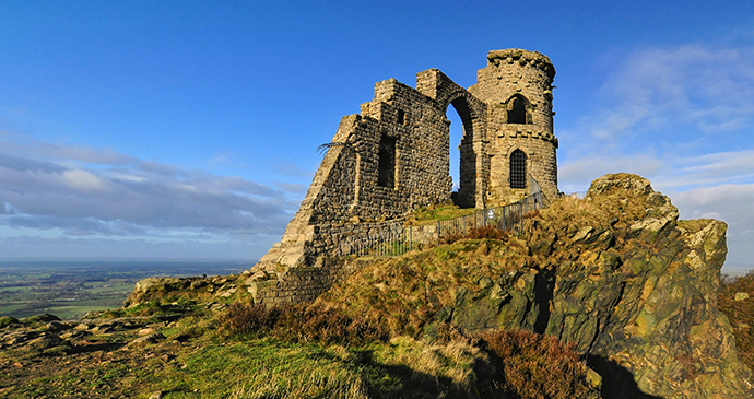Mow Cop Cheshire England by John P Carr, Shutterstock