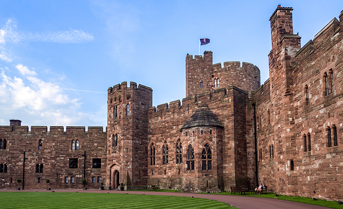 Peckforton Castle Cheshire England by Philip Bird LRPS CPAGB, Shutterstock