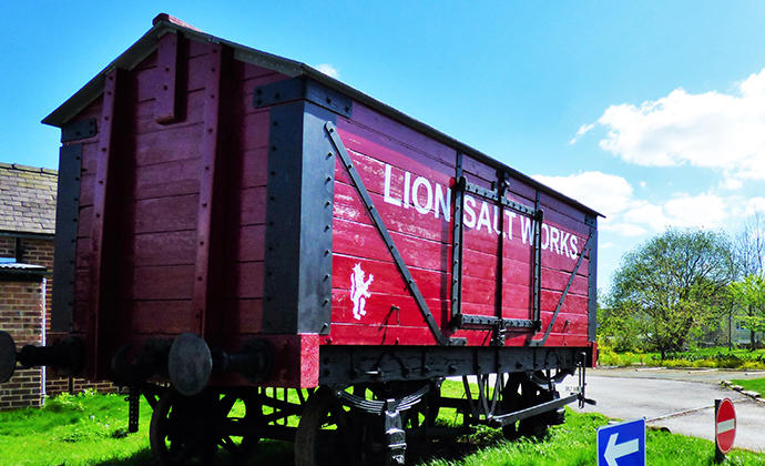 Lion Salt Works Marston Cheshire England by Grassrootsgroundswell