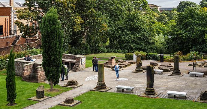 Roman Gardens by PhilipBirdLRPS, Shutterstock