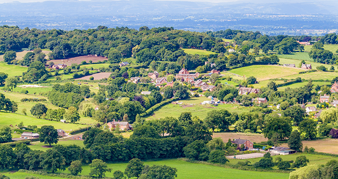 Bickerton Hill Cheshire England by Sandstone Ridge Trust