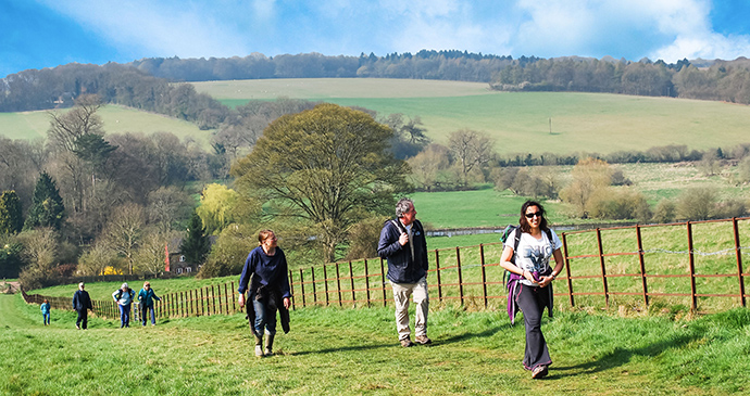Chiltern walking Festival Chilterns by Annette Venters