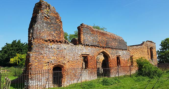 Someries Castle Chilterns by Helen Matthews