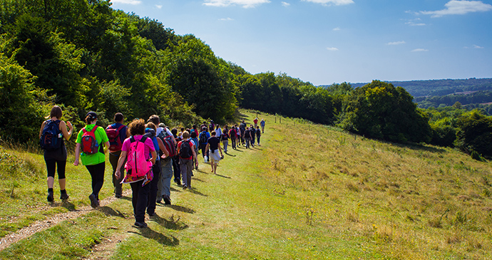 Walking Chiltern Hills England by mikecphoto Shutterstock