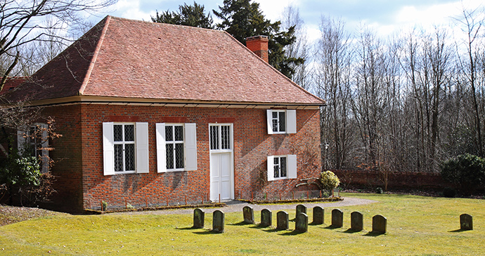 Quaker Meeting House Jordans Chilterns by Chrislofotos Shutterstock