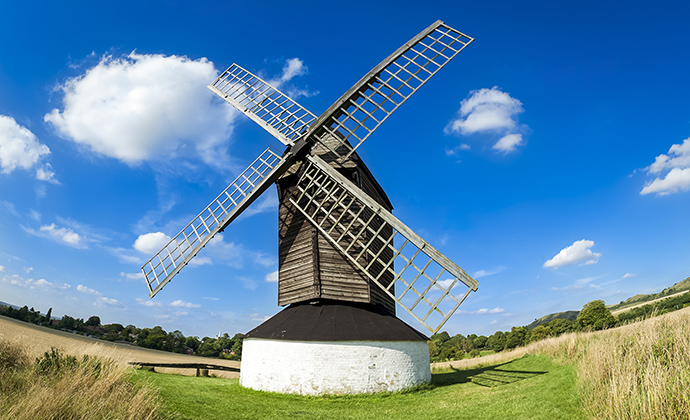 Pitstone windmill Tring Chilterns by donsimon Shutterstock