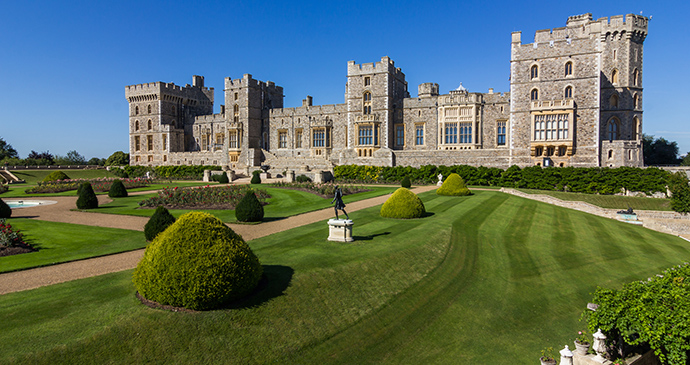 Windsor Castle Thames Valley by Kanuman Shutterstock