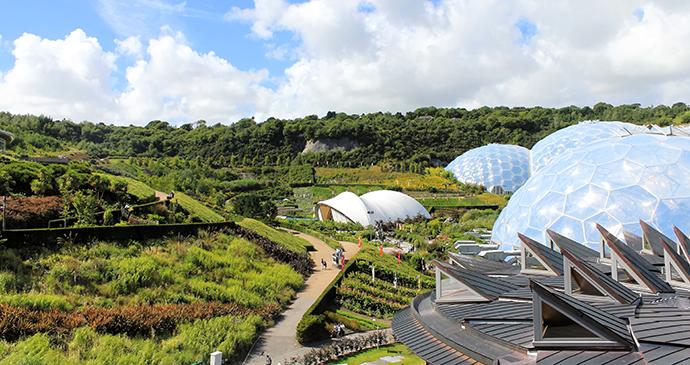 Eden Project Cornwall by Anna Jastrzebska Shutterstock