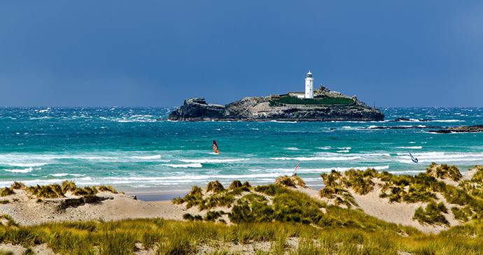 Godrevy Island Cornwall by Paul J Martin Shutterstock