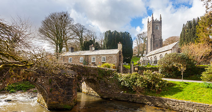 St Nonna's Church Altarnun Cornwall UK © ian woolcock, Shutterstock