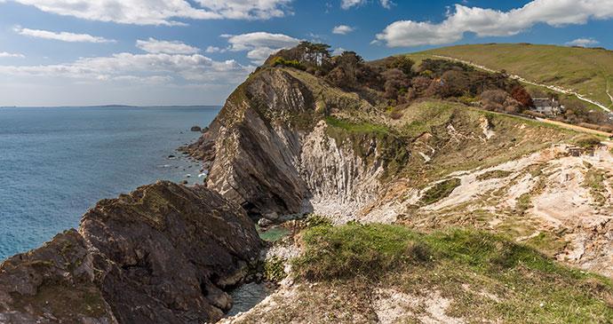 Jurassic Coast, Dorset, British Isles, England, © Lukasz Pajor, Shutterstock