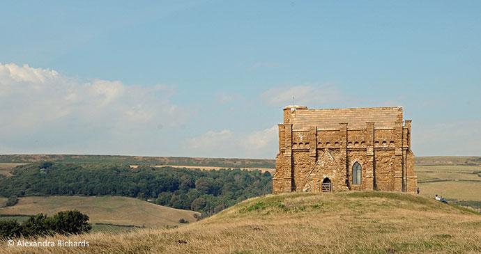 St Catherine's Chapel Abbotsbury Dorset UK by Alexandra Richards