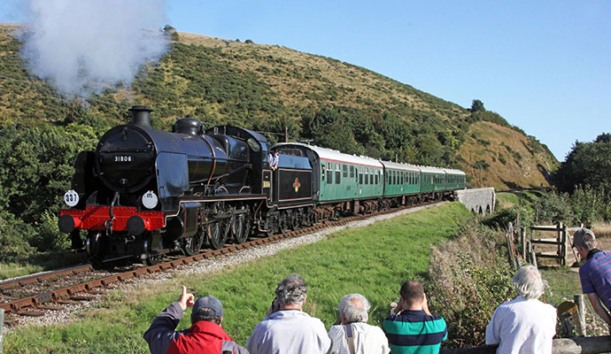 Swanage Railway Dorset UK by Swanage Railway heritage railways