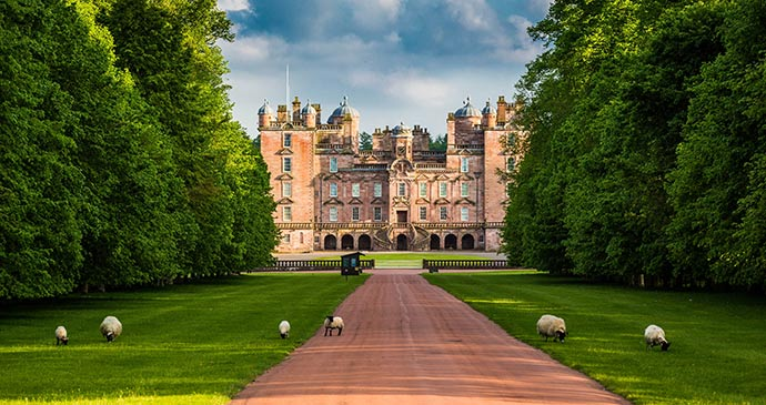 Drumlanrig Castle Nithsdale Dumfries and Galloway Scotland by Buccleuch
