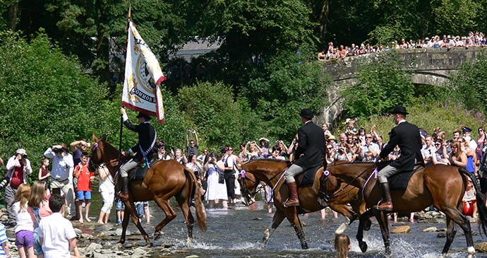 Langholm Common Riding Dumfries and Galloway Scotland by Donald Greig & Darren Flint (Slow Britain)