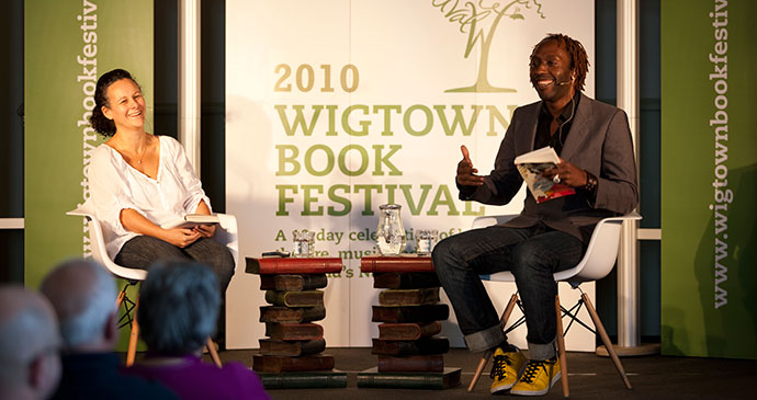 Wigtown Booktown Festival Dumfries & Galloway Scotland by Wigtown Booktown Festival