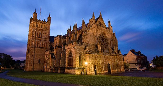 Exeter Cathedral Exeter East Devon British Isles Tony Howell Heart of Devon Images