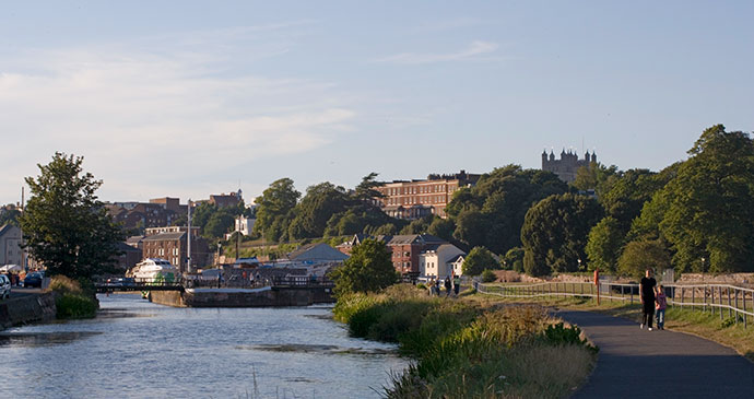 Exeter Quayside East Devon England UK by Tony Cobley, Heart of Devon Images