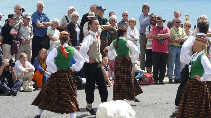 Sidmouth Folk Week Devon UK by Heart of Devon Images