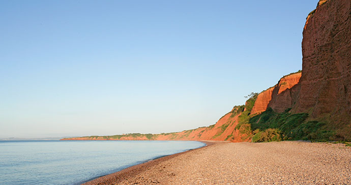 budleigh Salterton beach East Devon England Tony Howell Heart of Devon Images