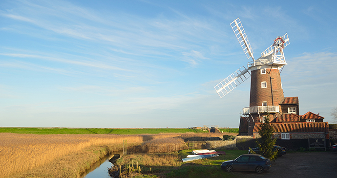 Cley Mill, Cley-next-the-Sea, Norfolk by Martin Charles Hatch, Shutterstock