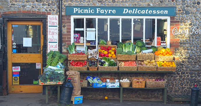 Local produce, Cley-next-the-Sea, Norfolk by Martin Charles Hatch, Shutterstock