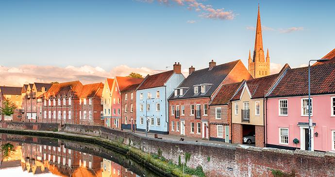 Norwich, Norfolk by Helen Hotson, Shutterstock