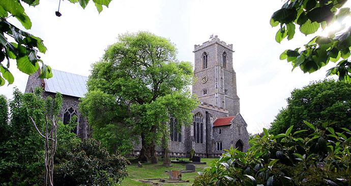 St Helen's Church Ranworth Norfolk UK by Jeff Owen flickr