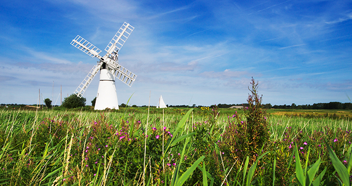 Windmill, Thurne, Norfolk by Broads Authority