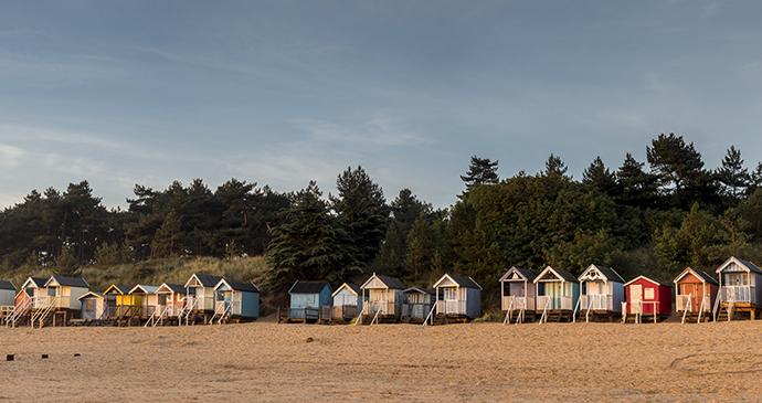 Beach huts, Wells, Norfolk by Richard Bowden, Shutterstock