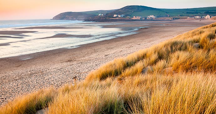 beach, croyde, north devon, UK by Ian Woolcock, Shutterstock