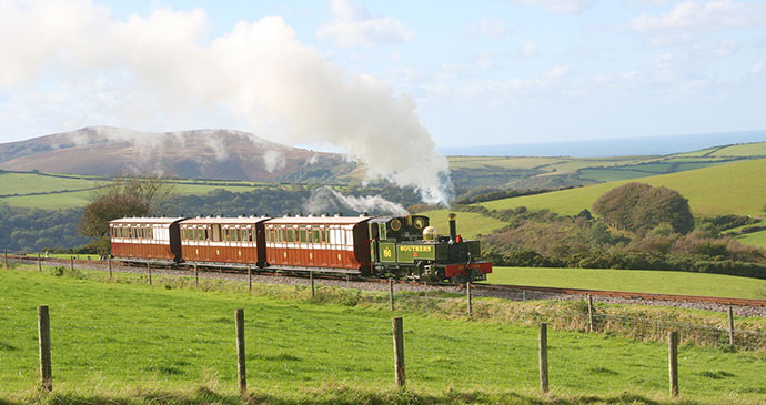 Lynton & Barnstaple Railway North Devon UK by Lynton & Barnstaple Railway