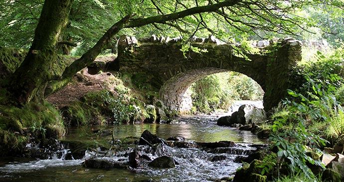 Robber's Bridge Picnic Places Exmoor National Park North Devon by ENPA, Exmoor National Park