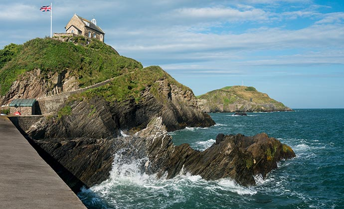 St Nicholas Chapel, Ilfracombe, North Devon, UK by Steve Heap, Shutterstock