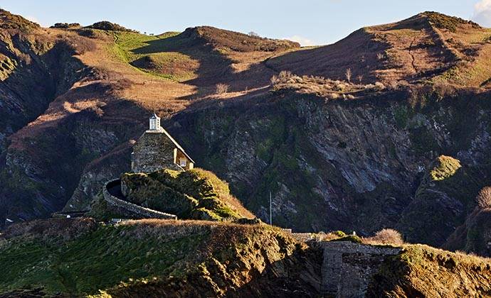 St. Nicholas Chapel, Ilfracombe, North Devon by A G Baxter, Shutterstock