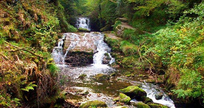 Watersmeet Picnic Places Exmoor North Devon by Exmoor National Park