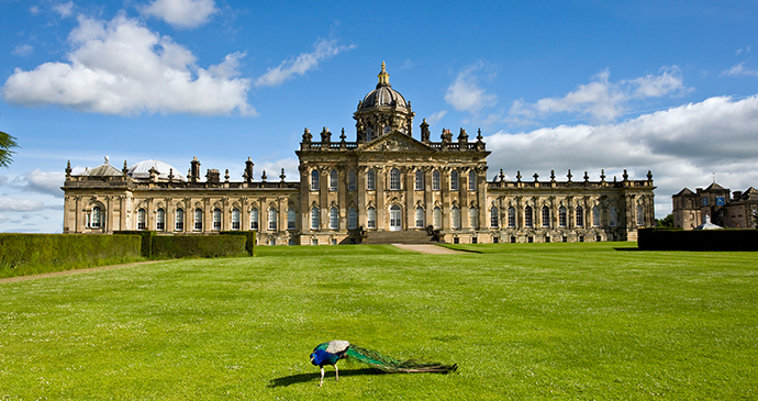 Castle Howard Yorkshire by Mike Kipling