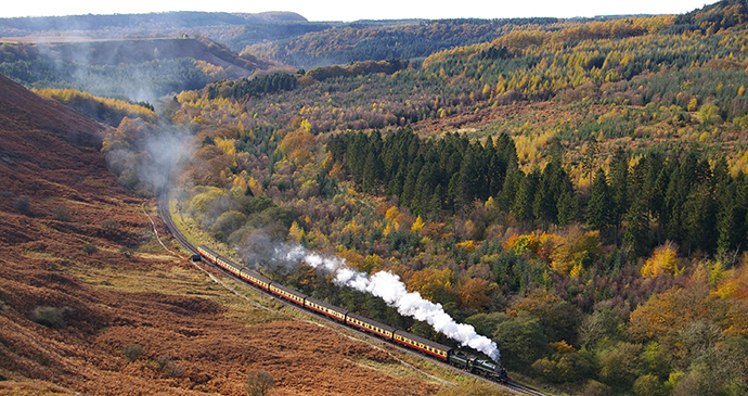 North Yorkshire Moors Railway England by John Hunt, NYMR