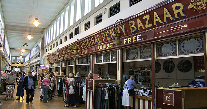 Grainger Market, Newcastle, Northumberland, UK by LHOON, Wikimedia Commons best things to see and do newcastle gateshead