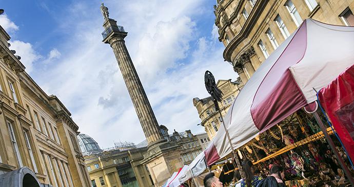 Grey's Monument, Newcastle, Northumberland, UK by Newcastle Gateshead VIC